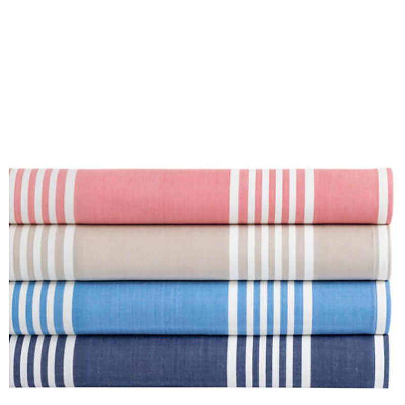 Pine Cone Hill Bistro Stripe French Blue Napkin - Set of 4 - Lavender Fields