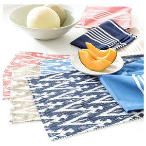Pine Cone Hill Bistro Stripe Indigo Napkin - Set of 4