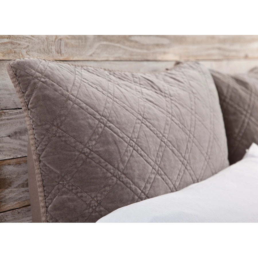 Pom Pom at Home Brussels Walnut Coverlet - Lavender Fields