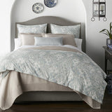 Peacock Alley Seville Percale Duvet Cover - Lavender Fields