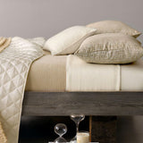 Pine Cone Hill Silken Solid Ivory Sheet Set