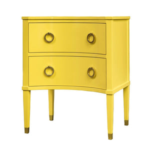 Somerset Bay Transitional Concave Nightstand