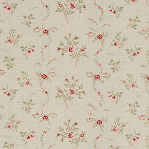 Kate Forman Sprig Floral Fabric - Lavender Fields