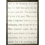 Sugarboo Designs This Is The Beginning Art Print - Lavender Fields