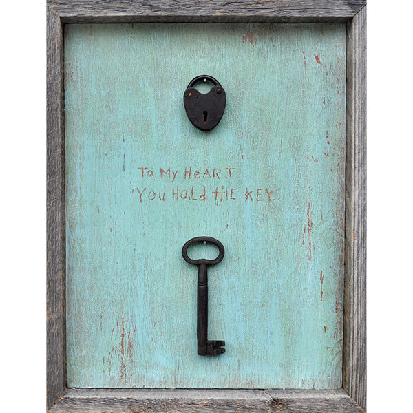 Sugarboo Designs To My Heart You Hold The Key Art Print