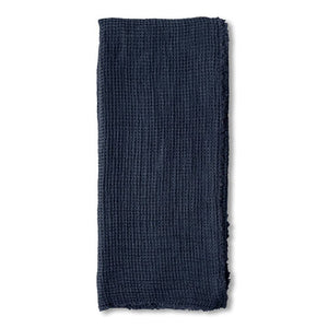 Pom Pom at Home Venice Oversized Throw - Navy - Lavender Fields