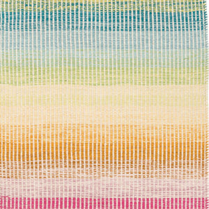 Dash and Albert Watercolor Horizon Woven Cotton Rug