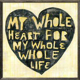 Sugarboo Designs Whole Heart Whole Life Art Print - Lavender Fields