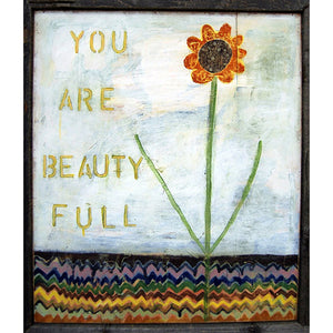 Sugarboo Designs You Are Beauty Full Art Print