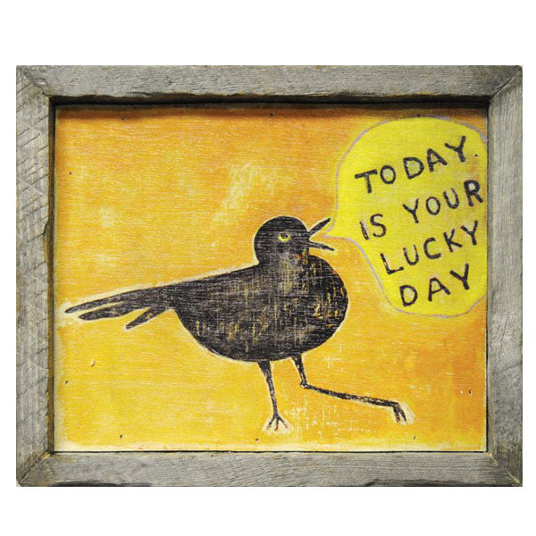 Sugarboo Designs Today Is Your Lucky Day Art Print