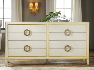 Modern History Abstract Dresser Abstract Dresser- Antique Grey