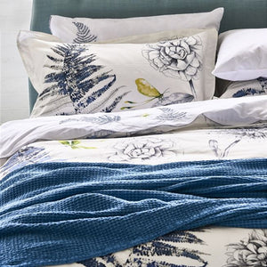 Designers Guild Alba Wedgwood Throw - Lavender Fields