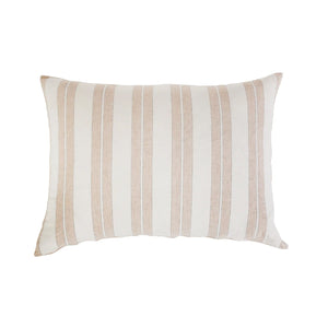 Pom Pom at Home Carter Big Pillow with Insert Ivory/Amber