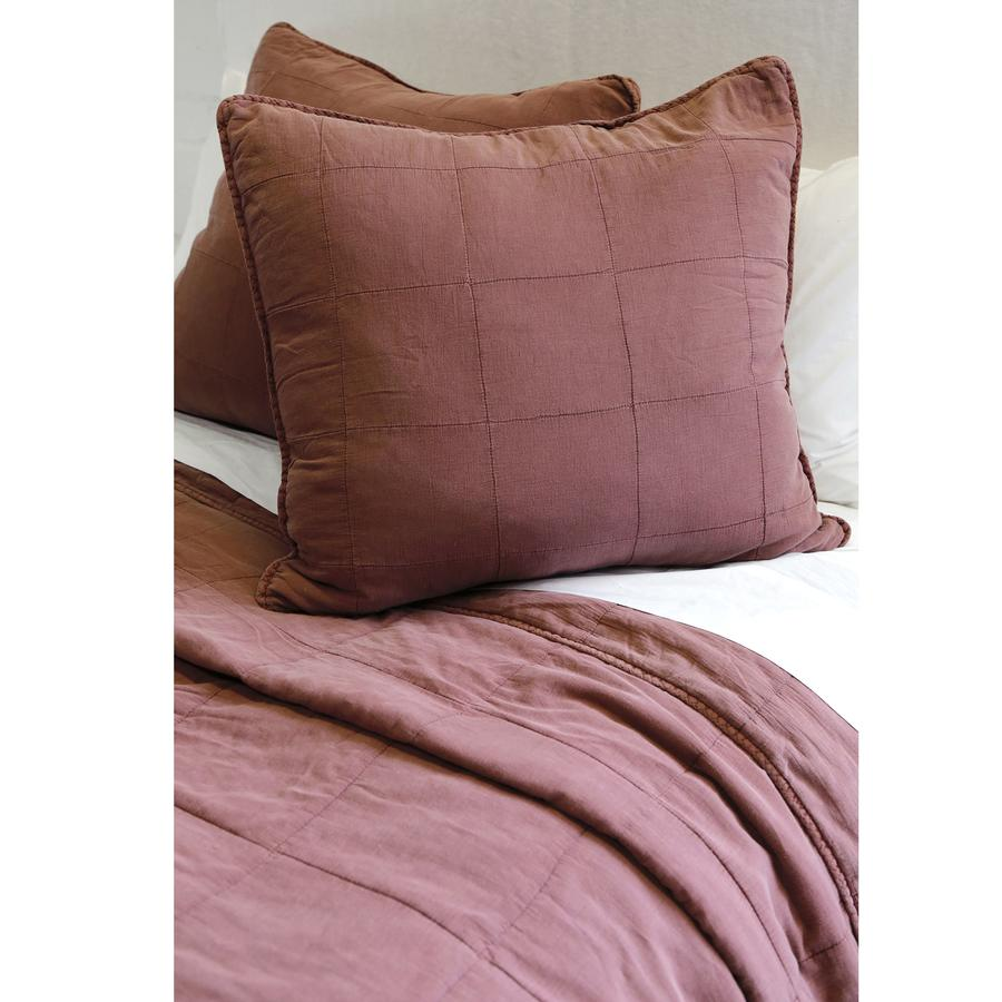 Pom Pom at Home Antwerp Berry Large Euro Pillow Sham