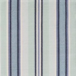 Dash and Albert Barbados Stripe Woven Cotton Rug - Lavender Fields