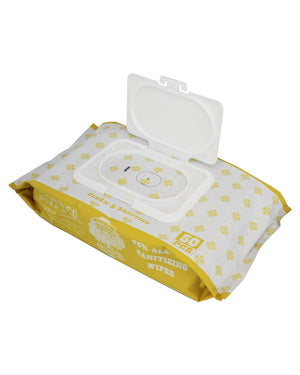 Lemon Verbena Sanitizing Wipes - Lavender Fields