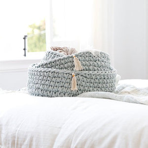 Pom Pom at Home Baya Sky Baskets - Set of 3 - Lavender Fields