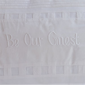 Taylor Linens Be Our Guest Bolster