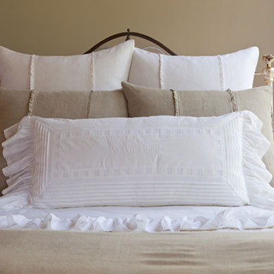 Taylor Linens Be Our Guest Bolster - Lavender Fields