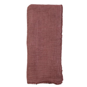 Pom Pom at Home Venice Oversized Throw - Berry