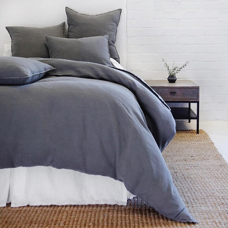 Pom Pom at Home Blair Midnight Duvet - Lavender Fields