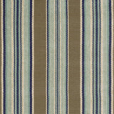 Dash and Albert Blue Heron Stripe Indoor/Outdoor Rug - Lavender Fields