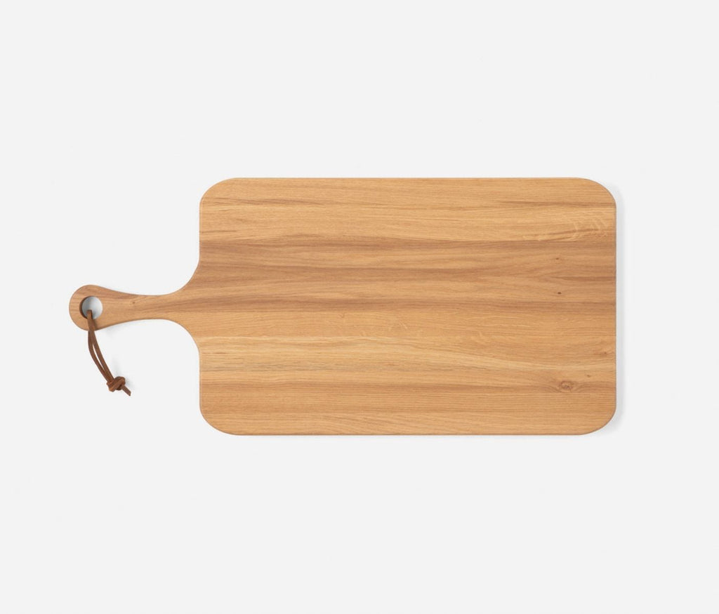 Blue Pheasant Edmund Oak Wood Serving Board