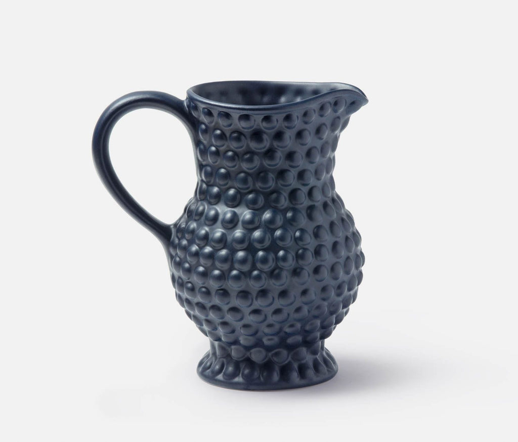 Blue Pheasant Remi Navy Blue Pitcher