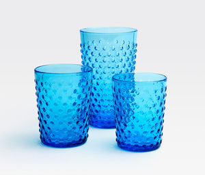 Blue Pheasant Sofia True Blue Glassware