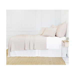 Pom Pom at Home Ojai Matelasse Blush Coverlet - Lavender Fields