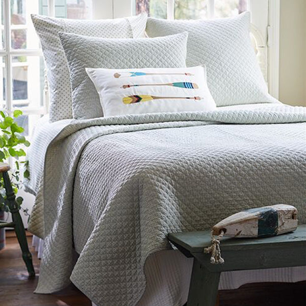 Taylor Linens Boathouse Quilt - Lavender Fields