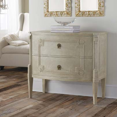 Modern History Bowfront Gustavian Commode