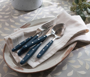 Blue Pheasant Jones Navy Flatware - Lavender Fields