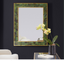 Modern History Brice Rectangle Mirror-Emerald Penshell