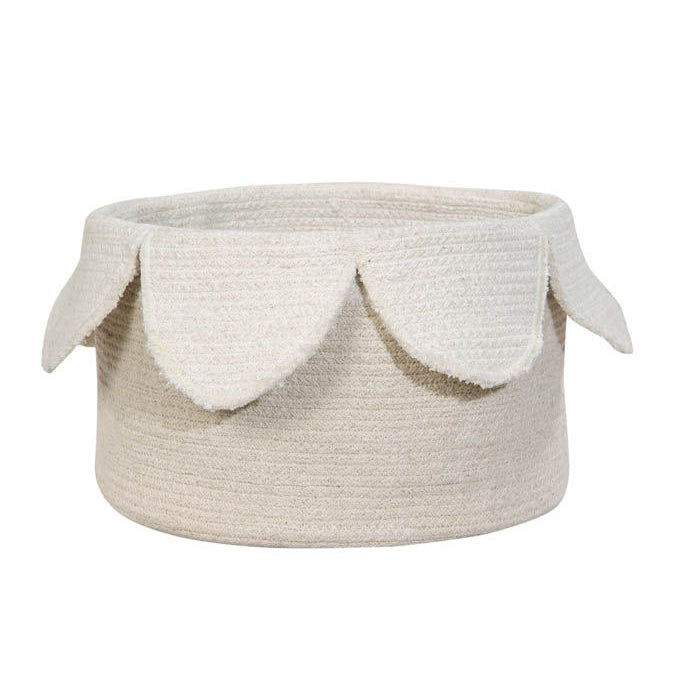 Lorena Canals Basket Petals Ivory - Natural