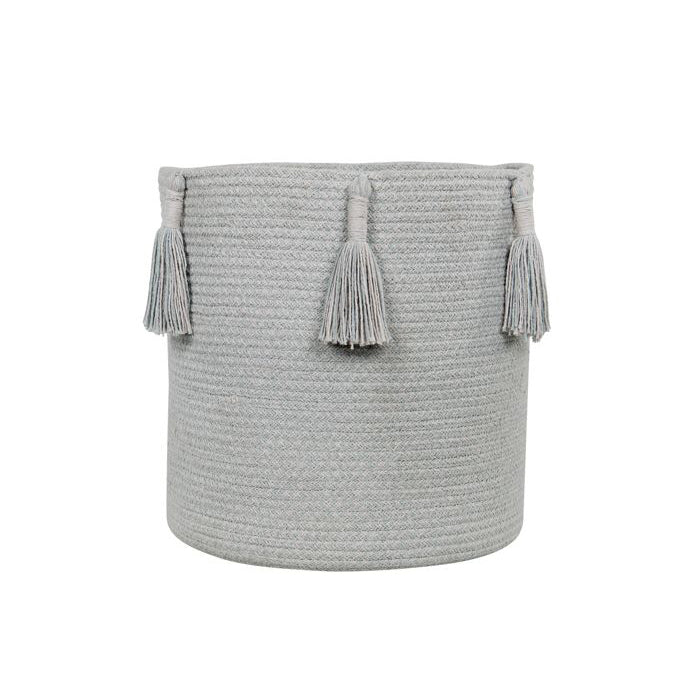 Lorena Canals Basket Woody Pearl Blue - Lavender Fields