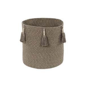 Lorena Canals Basket Woody Soil Brown