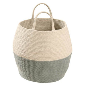 Lorena Canals Basket Zoco Vintage Blue - Natural - Lavender Fields