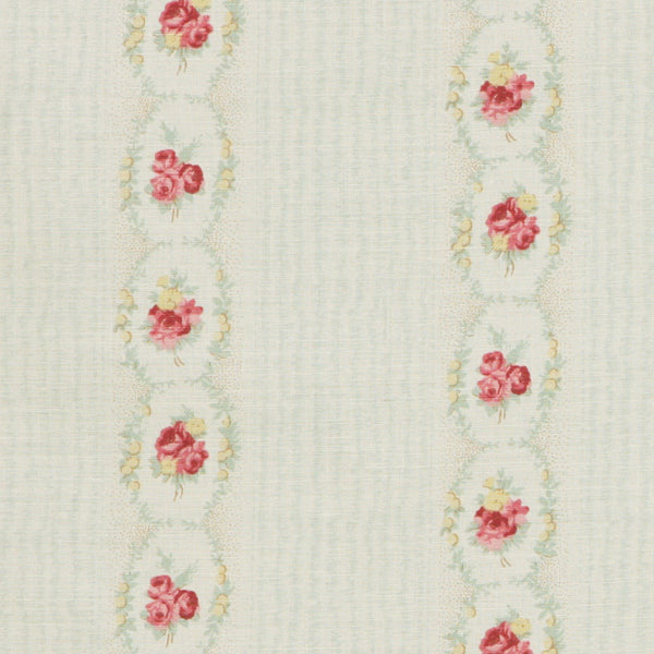 Kate Forman Cameo Rose Fabric - Lavender Fields