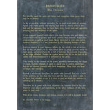 Sugarboo Designs Desiderata - Poetry Collection Sign (Gallery Wrap) - Lavender Fields
