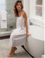 Jacaranda Living Chrissy White Cotton Nightgown