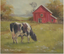 Christie Repasy Daisy Farm Original Canvas Print