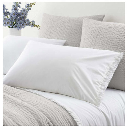 Pine Cone Hill Classic Ruffle White Pillowcases