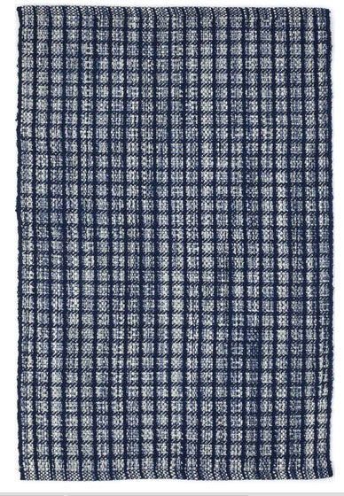 Dash and Albert Coco Blue Indoor/Outdoor Rug - Lavender Fields