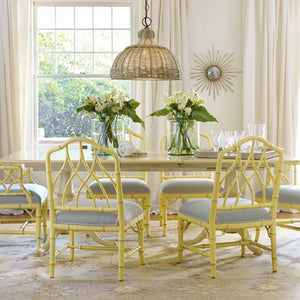 Somerset Bay Cohasset Double Pedestal Dining Table