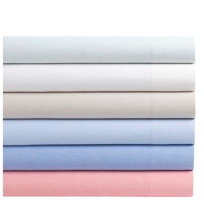 Pine Cone Hill Comfy Cotton Dove White Sheet Set - Lavender Fields