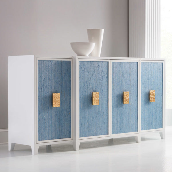 Somerset Bay Transitions Costa Four Door Credenza - Lavender Fields