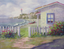 Christie Repasy Cottage by the Sea Original Canvas Print