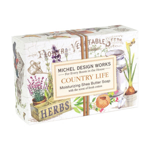 Country Life Boxed Single Soap - Lavender Fields
