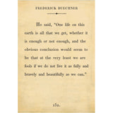 Sugarboo Designs Frederick Buechner Book Collection Sign (Gallery Wrap) - Lavender Fields